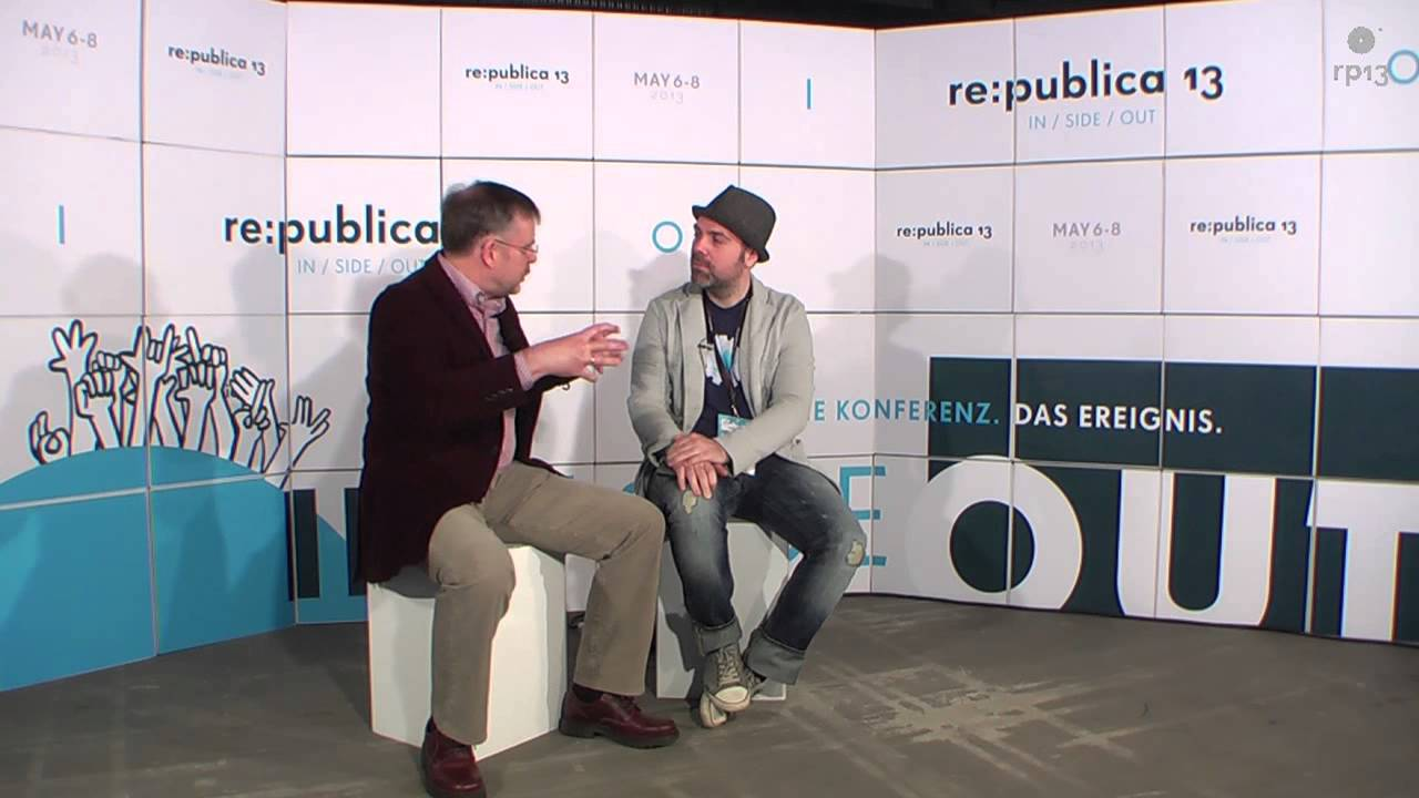 re:publica 13 - IN/SIDE/OUT mit Gunter Dueck