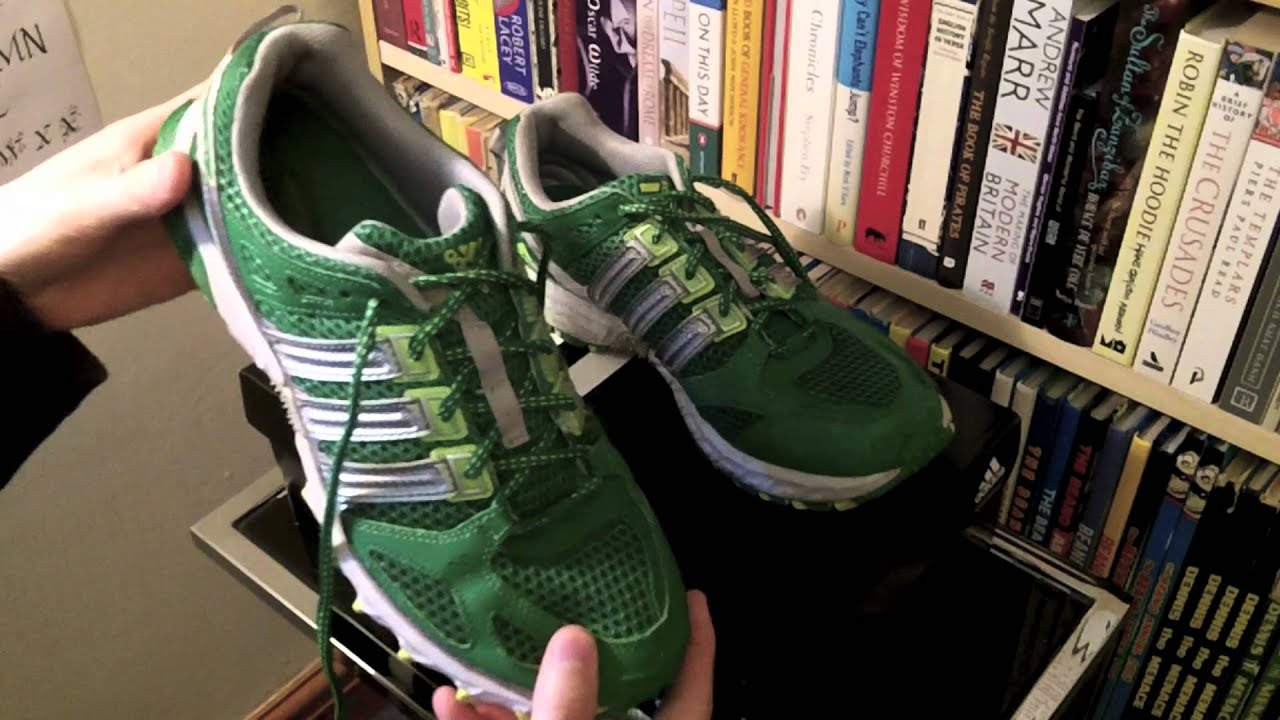 5d8d4fc3ab3 Adidas Kanadia TR 4 Running Shoes Review - YouTube