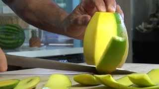 How To Cut A Mango – Bruno Albouze – The Real Deal