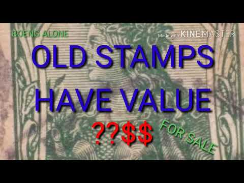 OLD STAMPS HAVE VALUE??$$.
