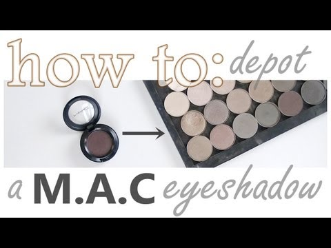 HOW TO: Depot a MAC Eyeshadow