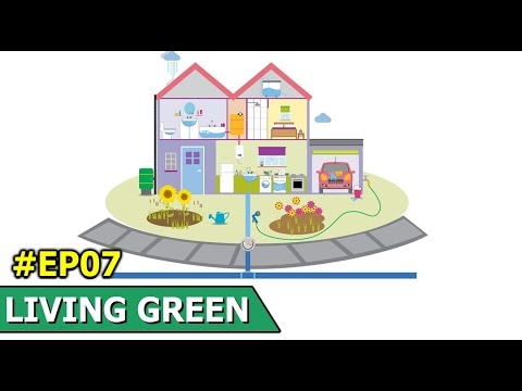 Saving Water In The Home | In The Home You Can Save Vast Amounts Of Water | Living Green | Episode 7