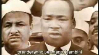 Martin Luther King I have a dream sottotitolato Italiano
