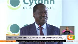 Oginga Odinga calls on kenyans to give state projects room