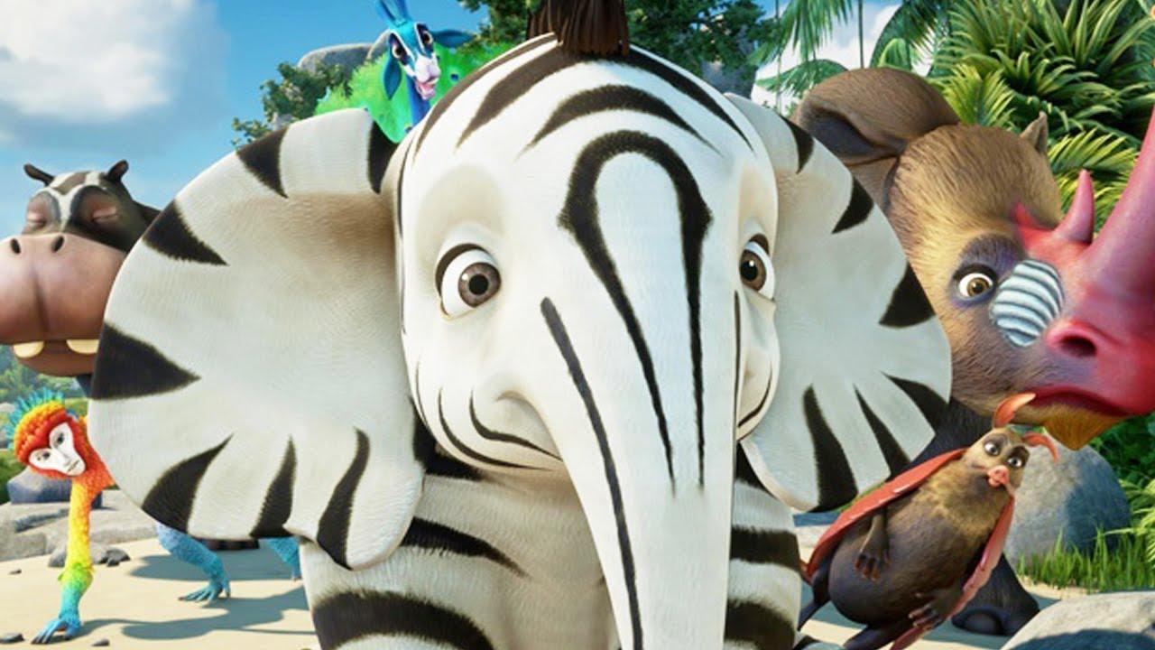 Download Zafari | Sore Winners | Dreamworks Animation | English Full Episodes | Kids Cartoon | Kids Movies 🐘