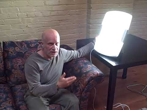 Demonstration Of Verilux SAD Light
