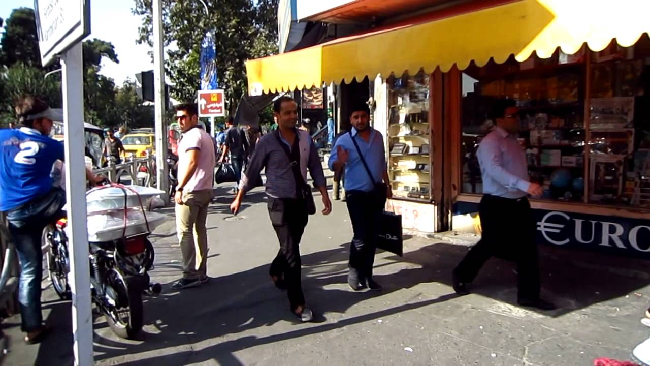 Non Muslim Perspective On The Revolution Of Imam Hussain: Central Tehran Street Scenes