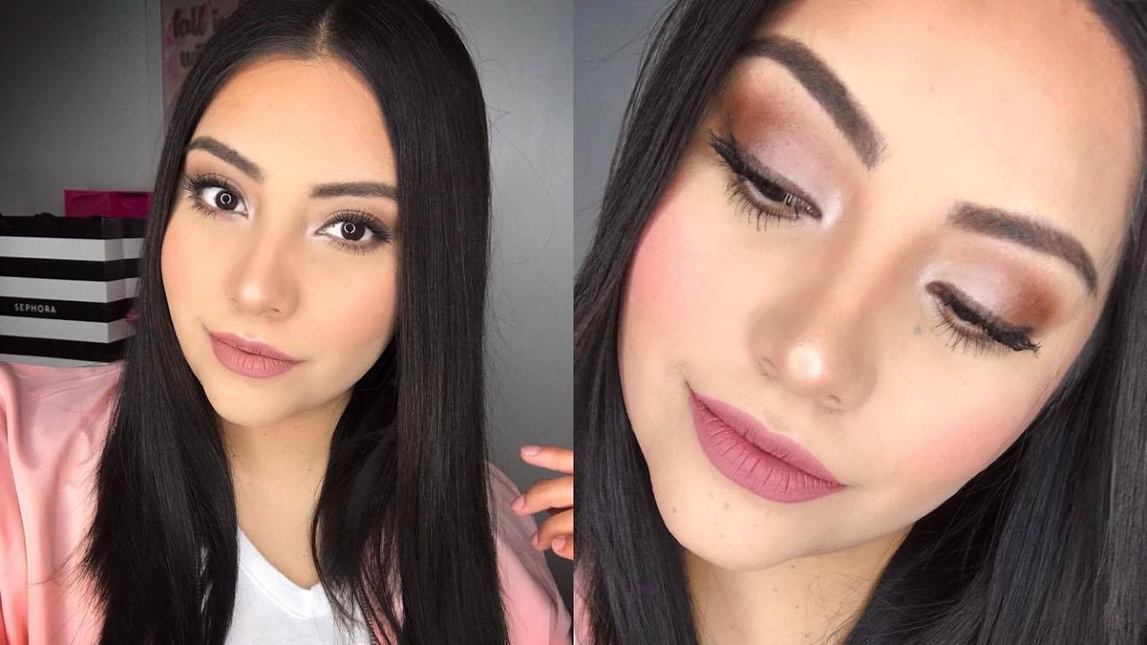 Maquillaje Para Evento De Dia Tonos Neutros Pau Correa Youtube - Maquillaje-para-eventos