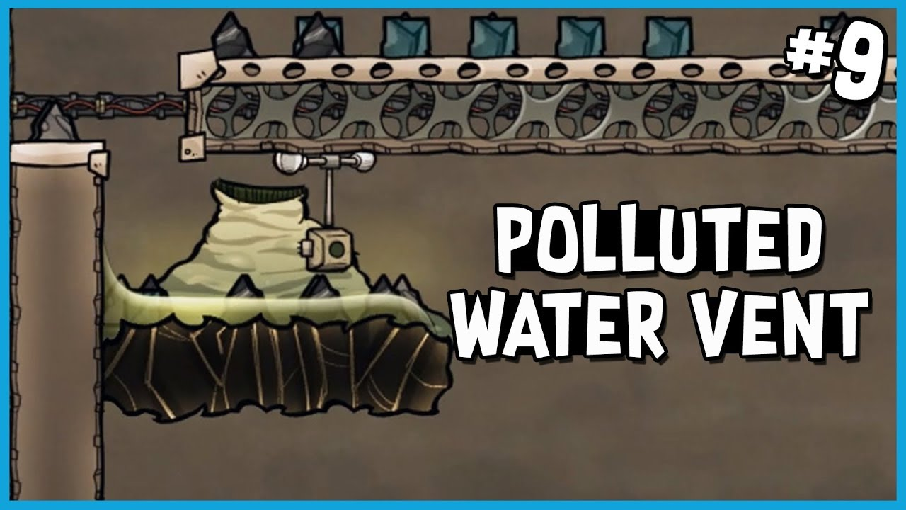 🚀 Analysing My Polluted Water Vent | Oxygen Not Included - Launch Upgrade  Gameplay | Part 9