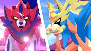 Pokémon Sword & Shield - Zacian & Zamazenta Boss Fight