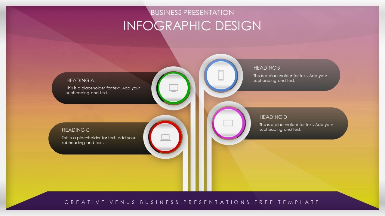 How To Create a Simple Beautiful Product Features Infographic in Microsoft  Office PowerPoint PPT