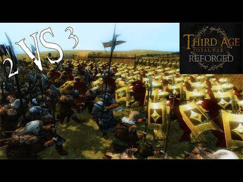 Third Age: Total War (Reforged) - SURROUNDED ON ALL SIDES (Battle Replay)