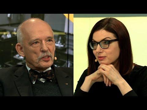 Korwin-Mikke do Michalik: czy Pani jest chora psychicznie? | Onet Opinie
