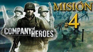 """Company of Heroes - Batalla de Normandía - Misión 4: """"Contraataque en Carentan"""""""