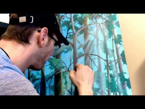 """""""Beyond"""" timelapse oil painting"""