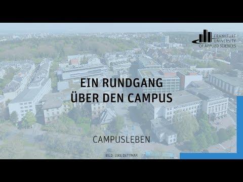 Ein Rundgang über den Campus der Frankfurt UAS