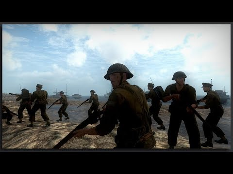 NEW DUNKIRK REVIEW - Day of Infamy Gameplay Dunkirk New Map Review
