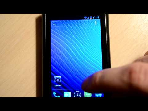 Cyanogen 9 ICS beta2 by thepasto on Acer Liquid A1