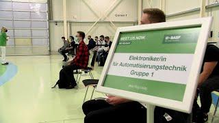BASF-Ausbildungsstart 2020 bei BASF am Standort Ludwigshafen