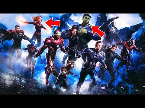 Avengers 4 FIRST LOOK Reveals NEW Characters And Concept Art! Professor Hulk?!