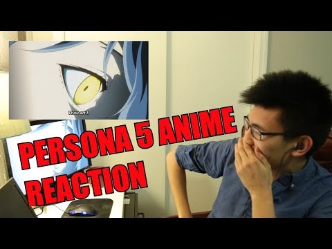 Persona 5 The Animation Episode 1 REACTION