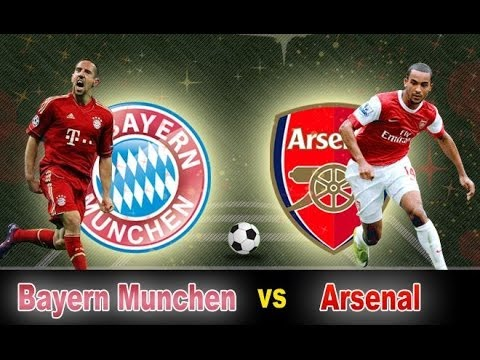 Mesut Ozil, Franck Ribery & Arsenal vs Bayern Munich
