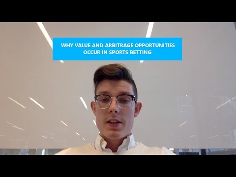 Why Value and Arbitrage Opportunities Occur in Sports Betting || Ep2 Sports Trading Series