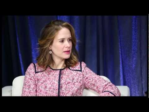 """Show People With Paul Wontorek: Sarah Paulson on Not Being """"Annie"""" & Not """"Boffing'"""" Jessica Lange"""