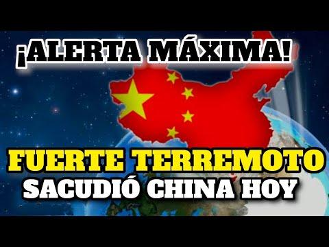 ¡Imágenes! Fuerte Terremoto Sacudió China ¡Esto Sucedió Hoy Impactante!