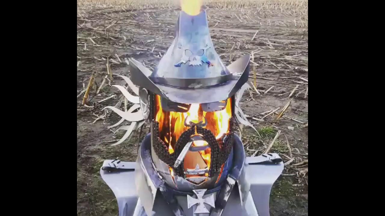 Custom fire pit Lemmy Killmister Motörhead tribute - Custom Fire Pit Lemmy Killmister Motörhead Tribute - YouTube