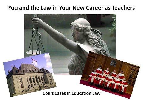 Education Law Litigation 3: Denominational School Employment Cases