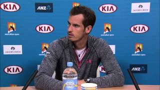Andy Murray press conference (1R) - Australian Open 2015