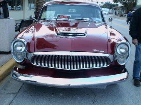1954 Kaiser Special 2 Door Maroon