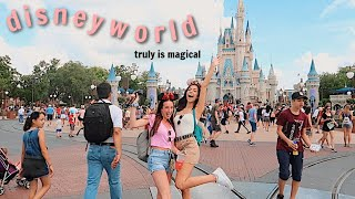 my FIRST time at DISNEY WORLD ft. Abbey Bankson
