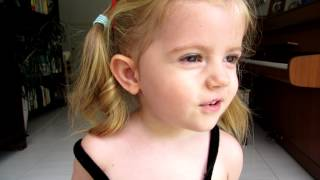 2 year old Australian girl singing Tagalog song
