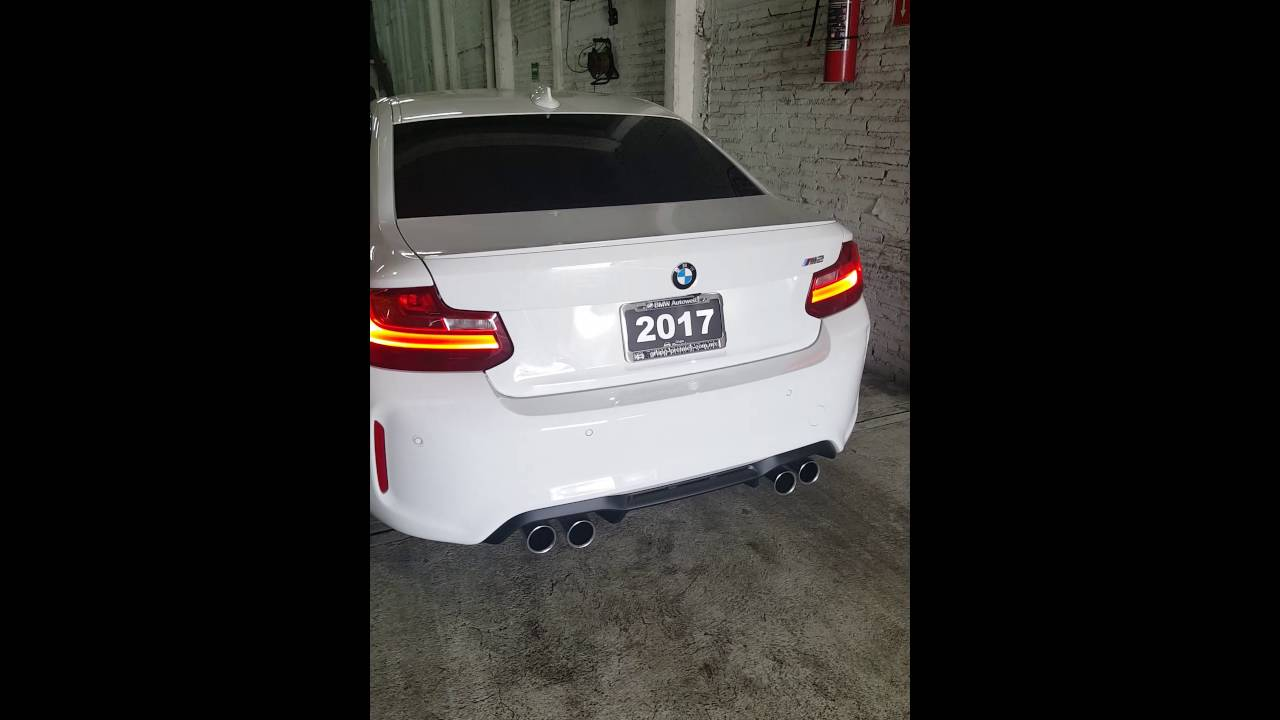 bmw m2 downpipe youtube. Black Bedroom Furniture Sets. Home Design Ideas