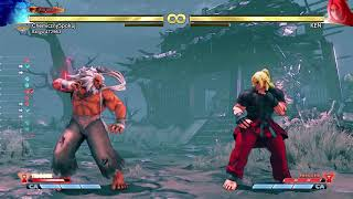 Street Fighter V instrukcja CA Akumy raging demon[HD](PL)