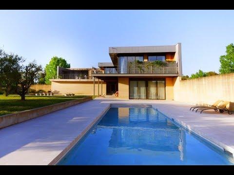 Superbe maison contemporaine à Uzès - YouTube