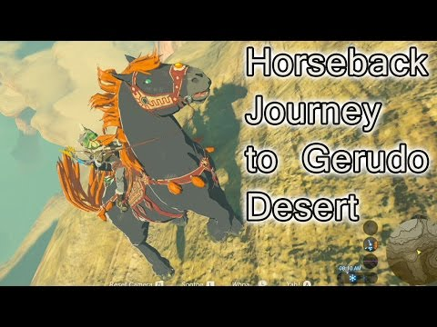 Riding a horse in the desert in breath of the wild doovi - How do you get the master cycle zero ...