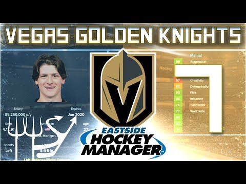 Year 2 Start | Golden Knights Eastside Hockey Manager - Ep. 7