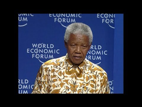 Nelson Mandela: WEF Davos [1999]
