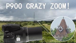 Nikon P900 Crazy Zoom!