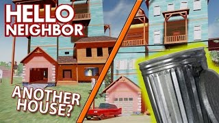 GLITCHES/FLYING/SECOND HOUSE! Hello Neighbor Alpha Update Ending