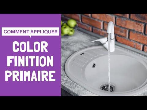 Application De Color Finition Et Primaire Avec Resinence