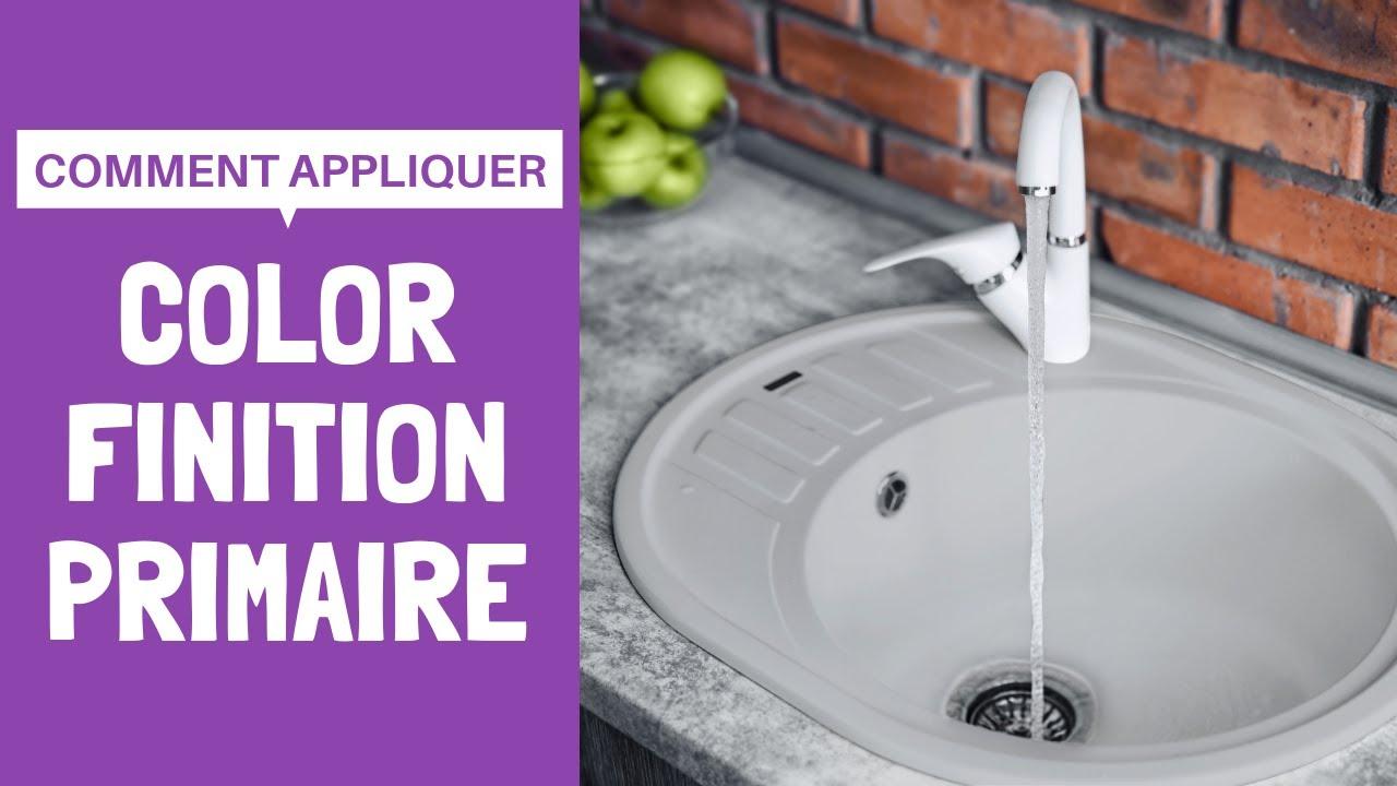 Tutoriel Color Finition Et Primaire Comment Rénover Un évier En Plastiqueacrylique