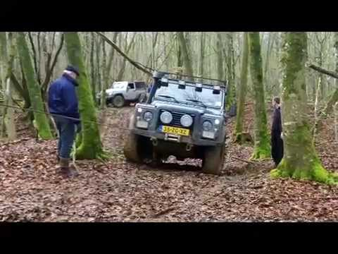 Defender 110  X Tech Joinville Off Road 4x4 4WD Travel 2014