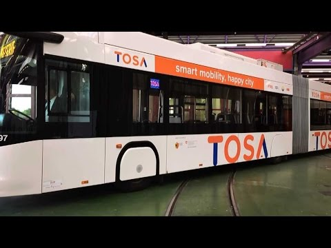 Des trolleybus rechargeables à Genève