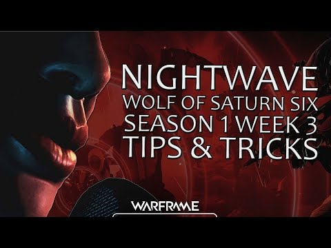 Warframe - Nightwave - Season 1 Week 3 - Tips & Tricks (Halls of Ascension) thumbnail