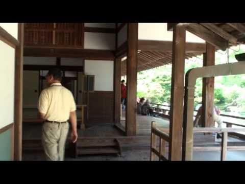 Tenryu-ji Temple and Bamboo forest Arashiyama area Kyoto