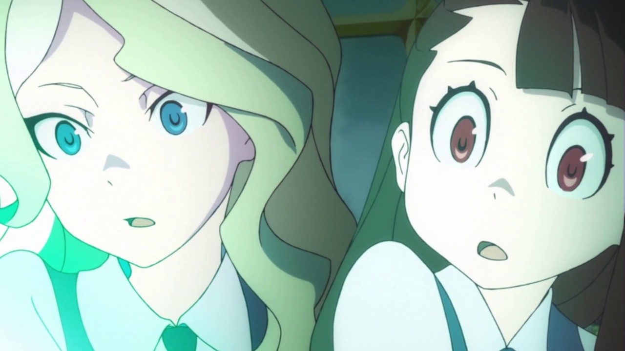Anime Witch Girl Wallpaper Akko X Diana You Lift Me Up Amv Youtube
